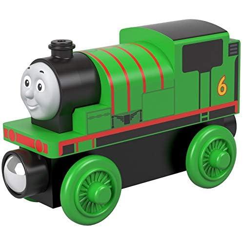 Thomas Il Trenino- Percy Treno in Legno, Giocattolo per Bambini 2 + Anni, GGG30