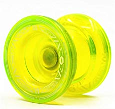 CCCSEE TopYo mojo Professional Injection Molded yoyo Toy Ball with Ball Bearing Axle String High Performance Fingerspin Yo-Yo! (Yellow)