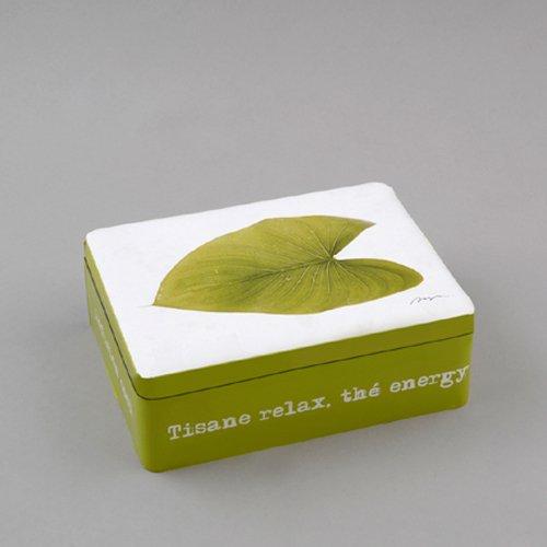 Silea 1005/5057 Boîte à Thé Green
