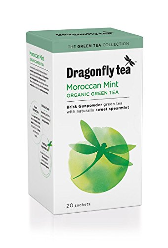 Dragonfly Moroccan Mint Tea 20 Bags x 4