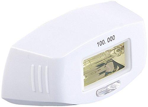 Sichler Beauty Zubehör zu IPL-Enthaarungs-Maschine: Licht-Aufsatz für IPL-Haarentferner IPL-100, 100.000 Lichtimpulse (IPL-Haarentferner mit Blitzlampen)