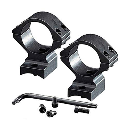 Browning, BAR/BLR Integrated Scope Mount System, 30mm, Intermediate, Matte Black
