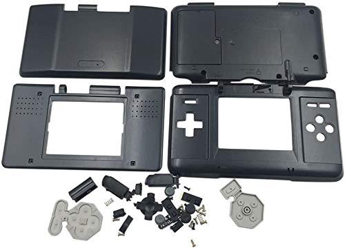 Coque de protection de rechange pour console de jeu Nintendo DS NDS Noir