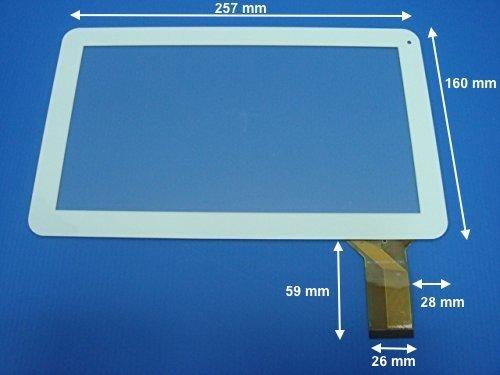 'Cristal táctil 10.1pantalla para Tablet POLAROID midc118