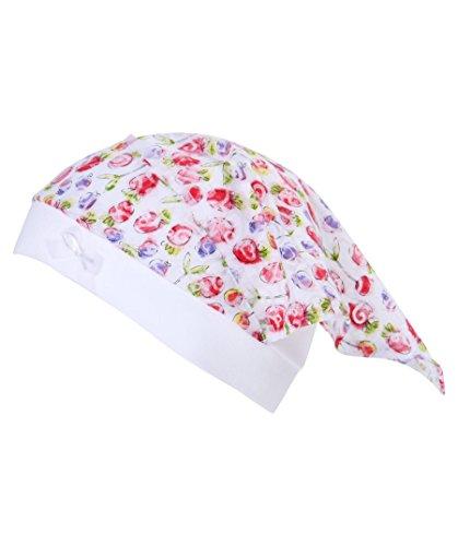 Mädchen Baby-Mütze mit Kopftuch