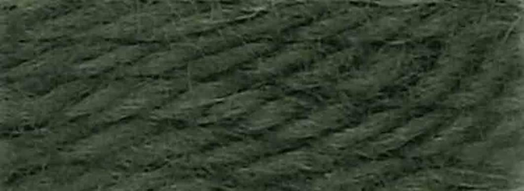 DMC 486-7396 Tapestry and Embroidery Wool, 8.8-Yard, Dark Gray Green