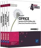 Microsoft® Office (versions 2019 et Office 365) - Coffret de 4 livres : Word, Excel, PowerPoint et Outlook
