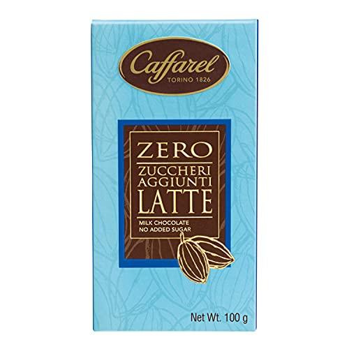 Caffarel Tavoletta Cioccolato Al Latte Senza Zucchero, 100g
