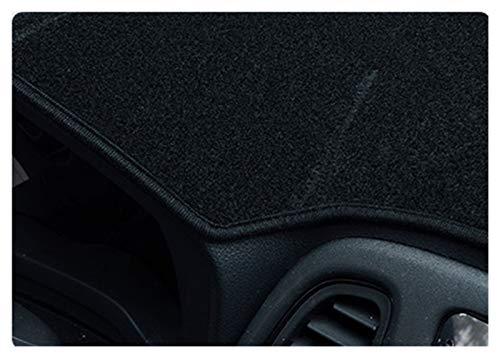 wjyfexble Coche de Tablero de Instrumentos del Tablero de Instrumentos del Tablero de Cochecito Almohadilla Anti-UV Sun Shade Auto Instrument Cover Carpet para Honda Fit Jazz 2004-2007 hnwyj