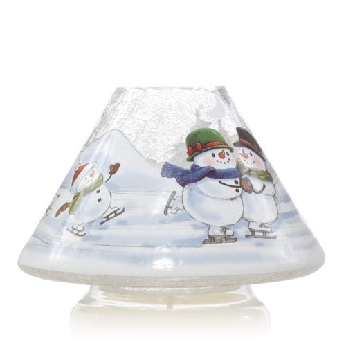 Yankee Candle Large Snowmen Skates Jar Shade Candle Topper