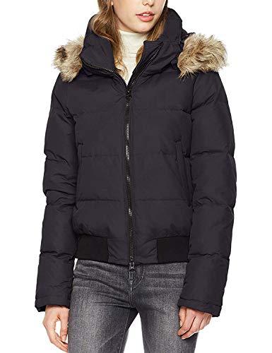 Royal Matrix Chaquetas bomber de plumón para mujer, abrigo grueso con capucha