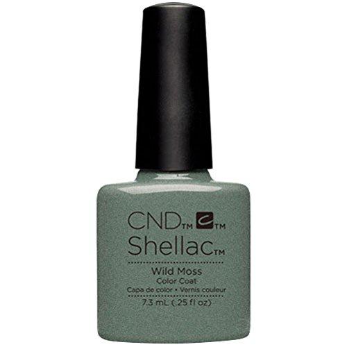 CND Original CND Shellac Wild Moss 7,3 ml, 1er Pack (1 x 0.007 l)