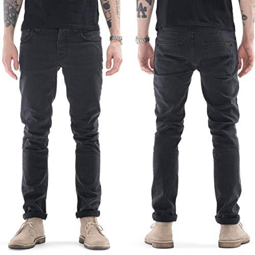Nudie Jeans Grim Tim, Jeans Unisex Adulto, Grigio (Misty Ridge), W28 / L32