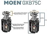 Photo #2: Moen Garbage Disposal Host Series - 3/4 HP Garbage Disposal with Sound Reduction (Moen GXB75C)