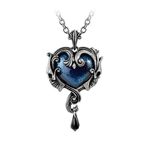 Alchemy Gothic Affaire du Coeur Pewter Pendant Necklace