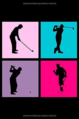 Golf: A5 Notizbuch, liniert auf 120 Seiten für alle die Golf spielen | Für Golfer, Golfspieler und Golfschläger für Putt, Chip, Pitch, Fairway Vol. 56