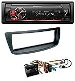 caraudio24 Pioneer MVH-S300BT MP3 Bluetooth AUX USB Autoradio für Citroen C1 Peugeot 107 Toyota Aygo 05-14