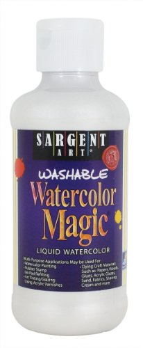 Sargent Art 22-6071 8-Ounce Watercolor Magic, Metallic Pearl White