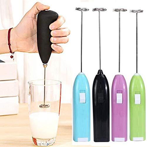 Fandazzie 1 Stü Tragbarer Handmixer Milchschaumereier Elektrischer Mixer Schneebesenaufschäumer Eierbecher