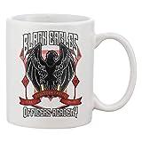 Black Eagles Crest Tazza da tè e caffè Mug Tea Coffee