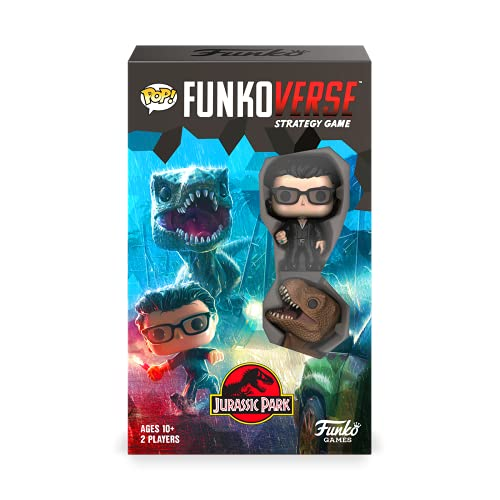 Funkoverse: Jurassic Park 101 2-Pack Board Game