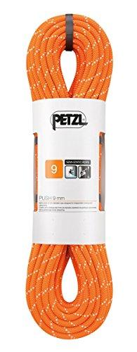 PETZL Corda Push 9 Mm 70 M Arancione, Unisex Adulto, One Size