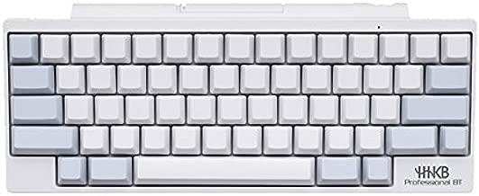 Happy Hacking Keyboard Professional BT ( White No Keytop Print/blank) PD-KB600WN