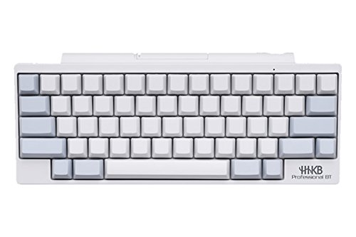 Happy Hacking Keyboard Professional BT (White No Keytop Print/Blank) PD-KB600WN