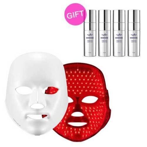 Deesse Profi-LED-Maske (nur rot Farbe) + mayjune Idebenone Ampulle Geschenk