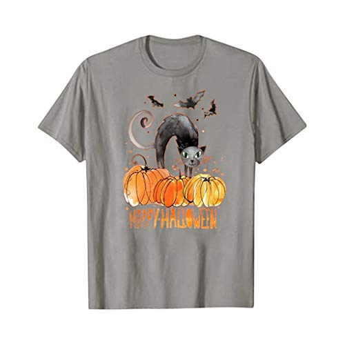Pwtchenty Halloween Kürbis Kostüm Jungen Mädchen Frauen T-Shirt Funny Print Tops