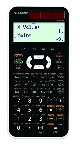 シャープ スタンダード関数電卓 ピタゴラス 442関数 ホワイト系 EL-509-M-WX