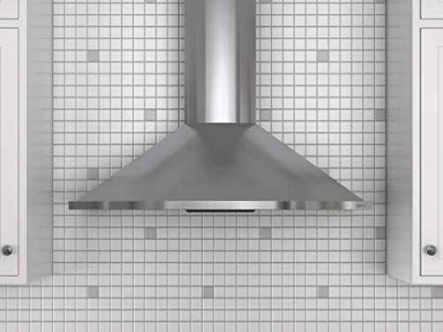 Zephyr 685 CFM 30' Wide Wall Mount Range Hood w/ ICON Touch Controls & Airflow Control Technology Stainless Steel