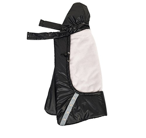 Mini miliya Babywearing 3 In 1:Waterproof Baby Carrier Cover with Fleece Lining and Silk Down Cotton Lining