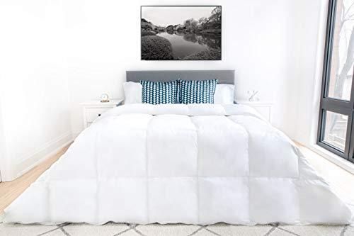 Highland Feather Cordoba White Down Duvet Comforter 550 Loft...