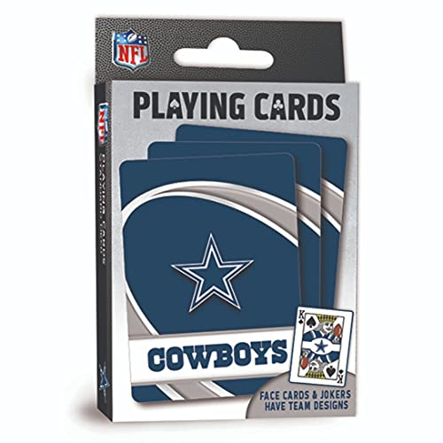 """MasterPieces NFL Dallas Cowboys Playing Cards, 2.5"""" x 3.5"""""""