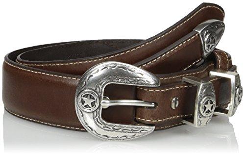 Nocona Belt Co. Men's Star Brown Ranger, 40
