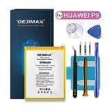 DEJIMAX 3100mAh P9 Batería Reemplazo de para Huawei P9 / Honor8 / G9, 3100mAh Batería de Repuesto de Iones de Litio de Alta Capacidad con Herramienta y Kit de Reparación