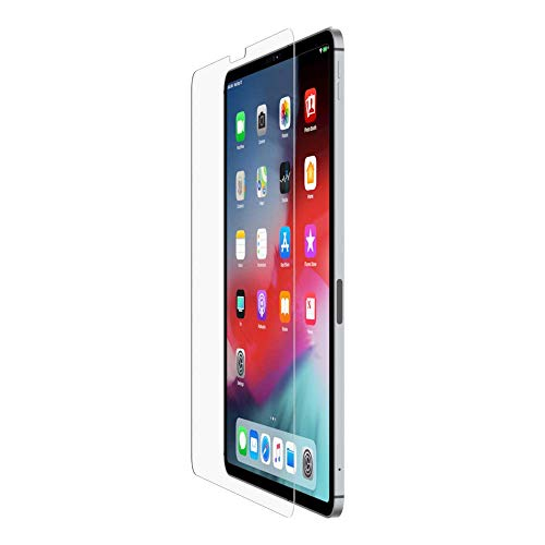 Belkin ScreenForce TemperedGlass Bildschirmschutz für das iPad Pro 12,9 Zoll (iPad Pro 12,9 Zoll Bildschirmschutz, iPad Pro Bildschirmschutz)