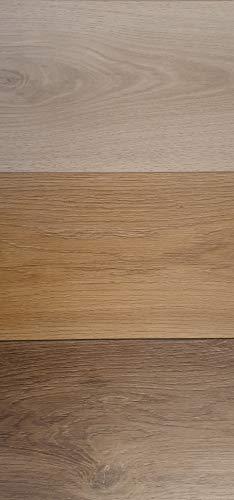 Schöner Wohnen-Kollektion Trend Laminat Muster – Farbbeispiele für Bodenbelag mit realistischem Holzdekor – pflegeleichter Fußbodenbelag mit unkompliziertem Klicksystem – 3 Dekorbeispiele