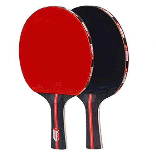 Purchase ZXHH Table Tennis Racquets, Professional Ping Pong Paddle 5PCS Set, Advanced Training Table...