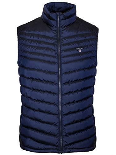 Gant The Airlight Daunenweste | Dusk Blue Jacket 3XL Dusk Blue