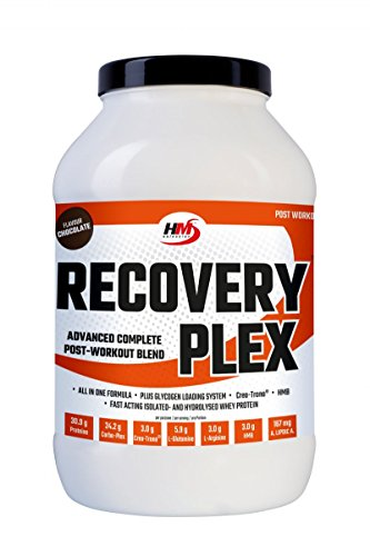 HMSelection RECOVERY PLEX - food preparation for sports drink for energy recovery - ideal for regeneration after training (chocolate, 1800 g)