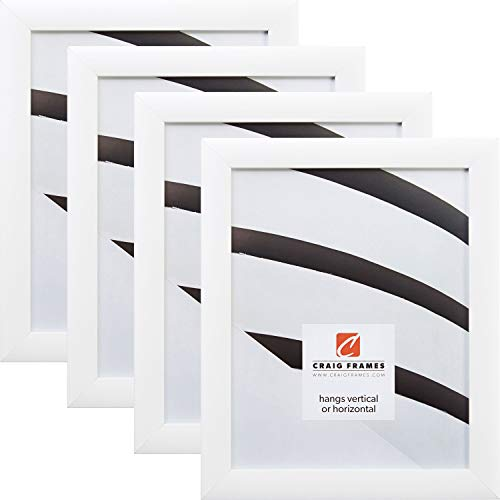 Craig Frames 23247812 24 x 36 Inch Picture Frame, White, Set of 4