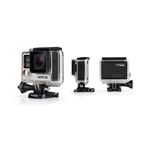 GoPro HERO4: BLACK - ADVENTURE - Videocámara deportiva, 12 Mp, Wi-Fi, Bluetooth, sumergible hasta 40 m