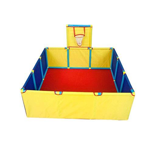 GJWL Grandes Infantil Parque Infantil con Capacidad for 100 Marine Balls - Cubierta de Juegos Infantiles Centro de Seguridad for Niños Zona de Juegos, Independiente de la Cerca de Seguridad for niños