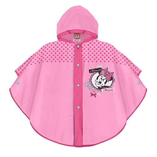 PERLETTI Poncho Impermeable Niña Disney Minnie Mouse