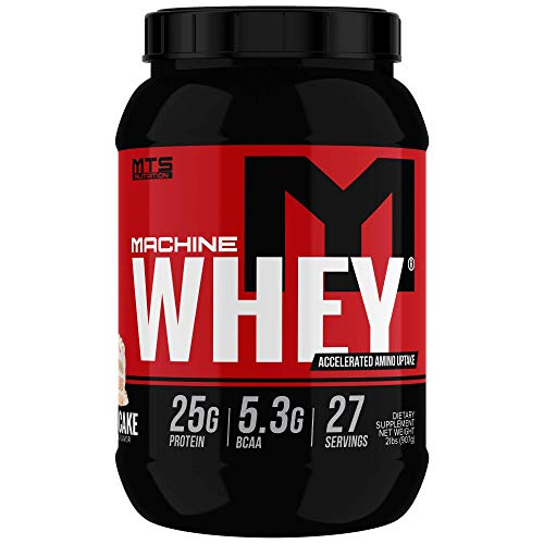 MTS Machine Whey Protein (2lbs., Birthday Cake)
