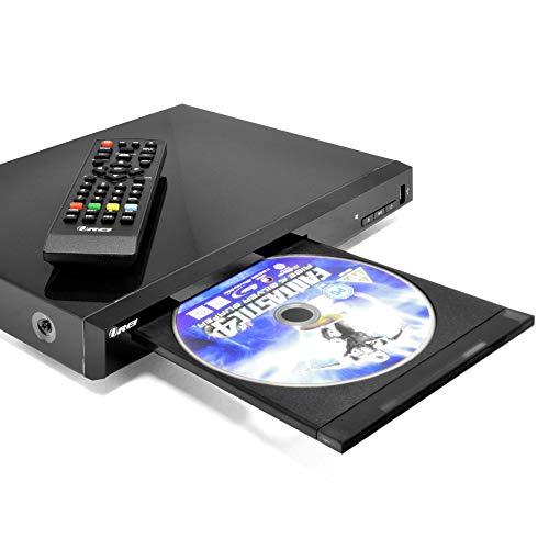 Region Free Blu Ray Player by OREI - Multi Zone 1, 2, 3, 4, 5, 6 Travel Video Player - BluRay Zone A, B, C, USB Input, RCA Input - Divx Playback - Remote Control - Dual Voltage