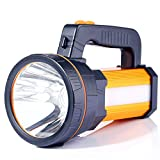 ALFLASH Powerful Rechargeable Torch Lantern 6000 Lumens Super Bright Waterproof Handheld Flashlight Spotlight