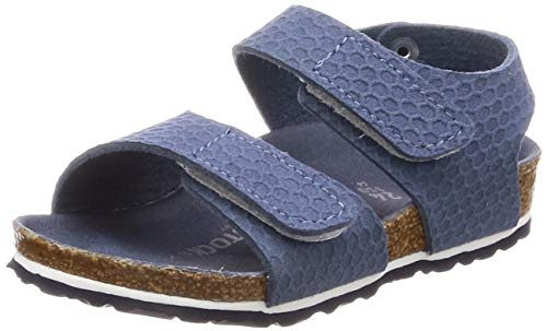 Birkenstock Palu Kids Hexagon Tech Unisex Sandales,Fille,Garcon,sem. Bicolore,Hexagon Tech Blue,28 EU